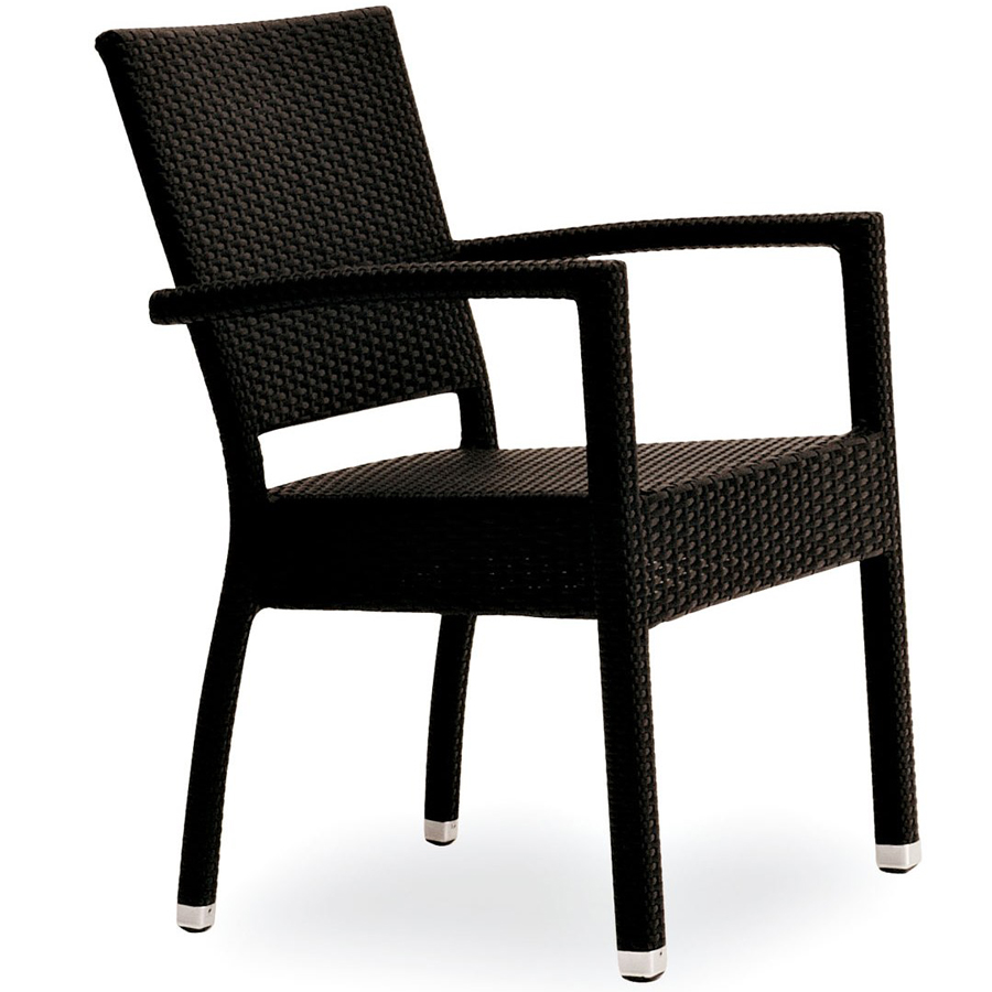 Sedia con braccioli impilabile per esterni di ottima for Sedie per esterno