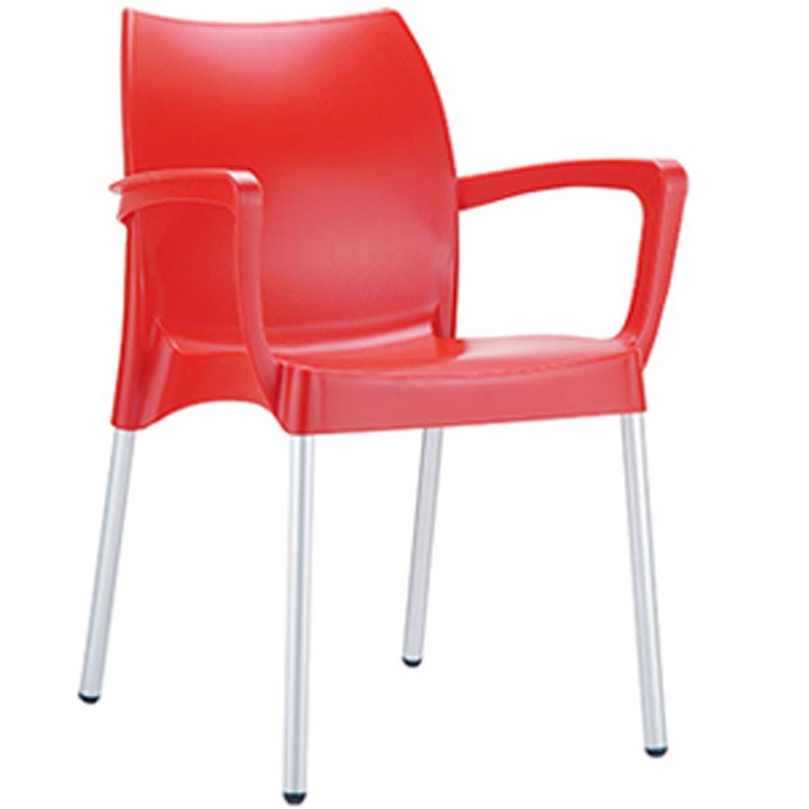 Sedia In Plastica Con Braccioli Di Ottima Qualità A Prezzi Contenuti