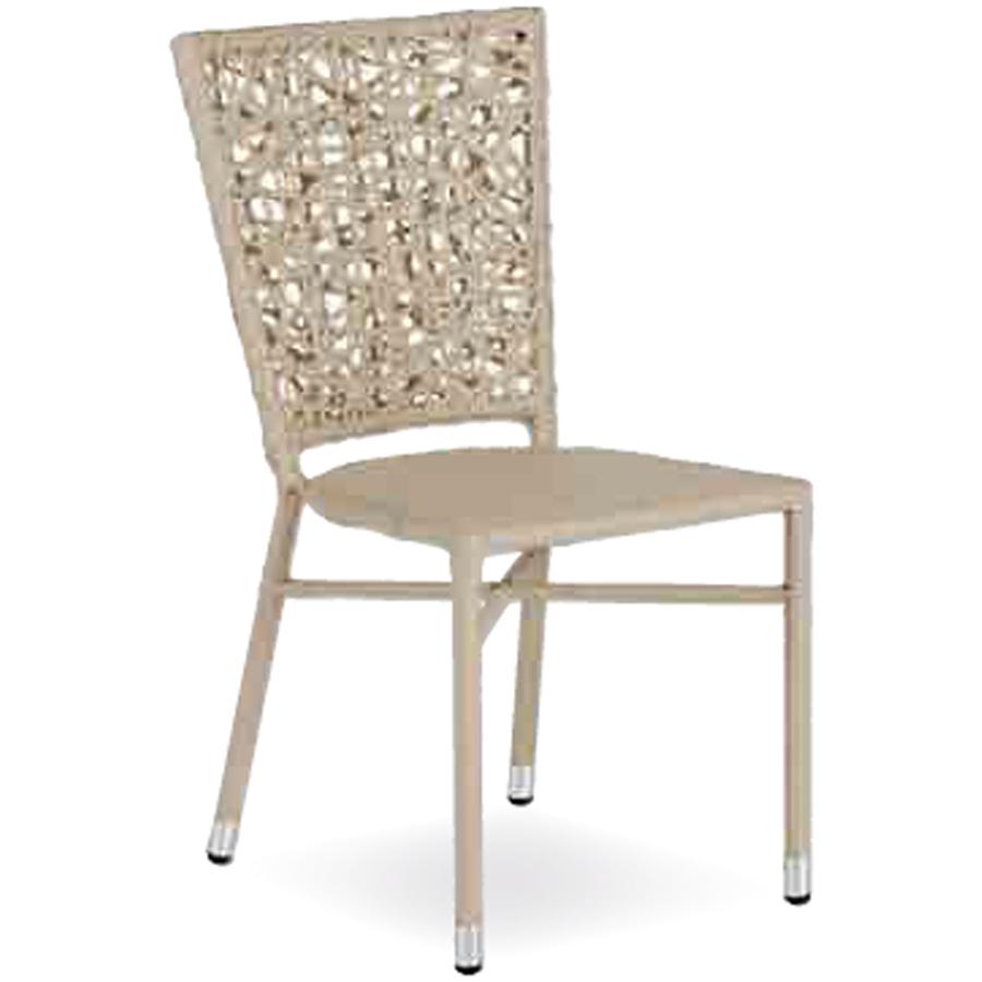 Sedia in filo intrecciato per esterni di ottima qualit a - Sedie da esterno ...